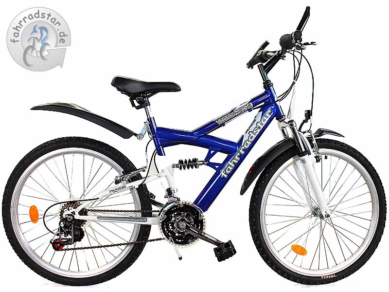 24 zoll mountainbike kinderfahrrad 18 g nge kinderrad fahrrad vollfederung neu ebay. Black Bedroom Furniture Sets. Home Design Ideas