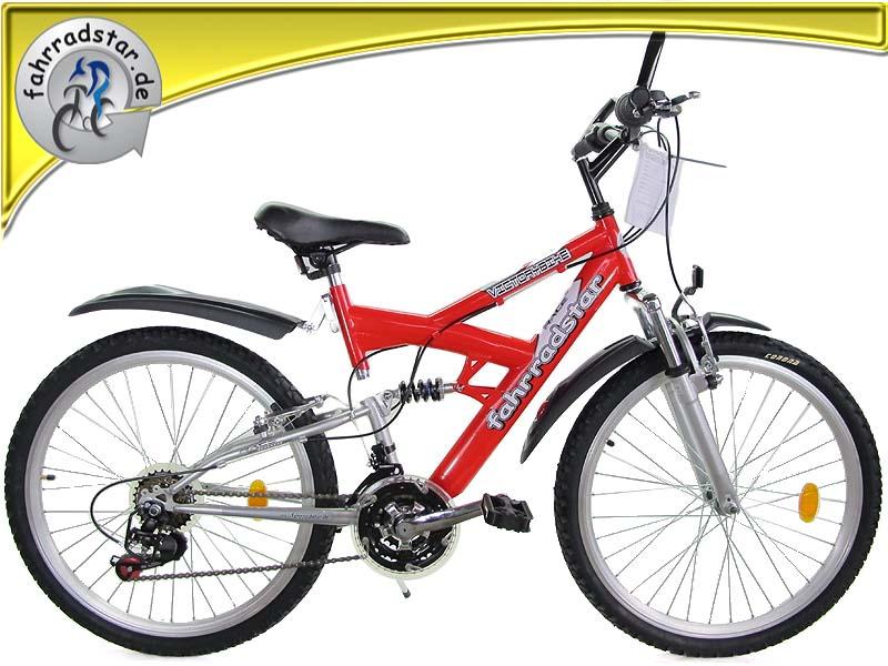 24 zoll mountainbike kinderfahrrad 18 g nge kinderrad. Black Bedroom Furniture Sets. Home Design Ideas